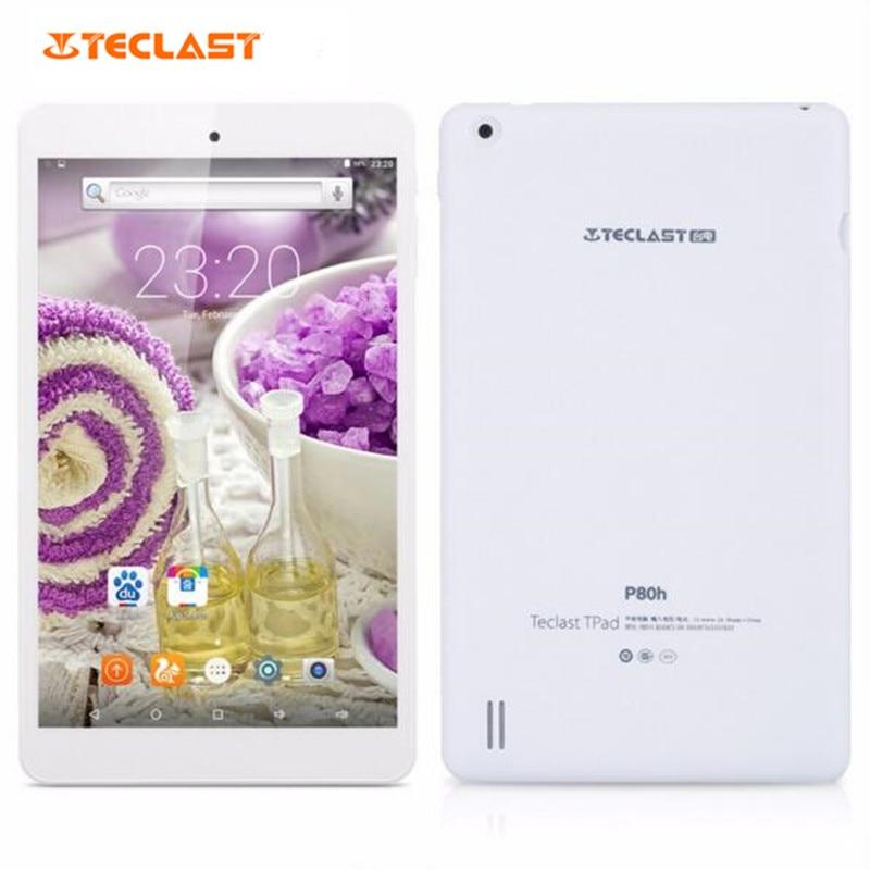 Original teclast tableta mt8163 quad-core 8.0 pulgadas ips 1 gb + 8 gb android 5