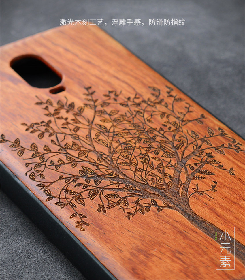 Oneplus 6t Case Boogic Original Real Wood funda Oneplus 6T Rosewood TPU Shockproof Back Cover Phone Shell One plus 6T case (5)
