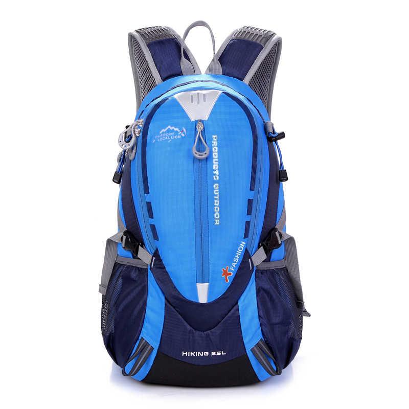 Водонепроницаемый рюкзак для скалолазания, 25л, спортивная сумка для отдыха на открытом воздухе, рюкзак для путешествий, походный рюкзак для женщин, походная сумка для мужчин