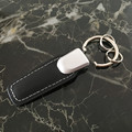 Genuine Leather 3D Leather car keychain keyring keyfob for VW Volkswagen the best gift for men women keyrings