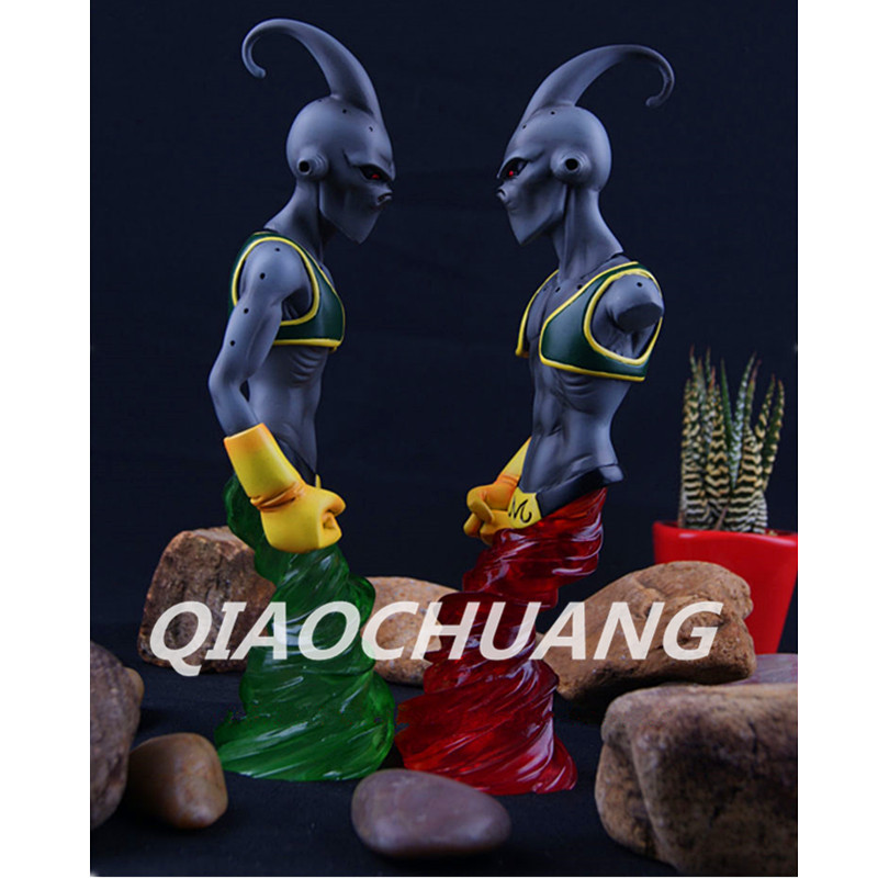 DHL Dragon Ball Z Statue Majin Buu Bust Last BOSS Half-Length Photo Or Portrait Resin Action Figure Collectible Model Toy W210 avengers captain america 3 civil war black panther 1 2 resin bust model panther statue panther half length photo or portrait