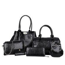 Bolsas Composite font b handbag b font Set Shoulder Bag Female font b Handbag b font