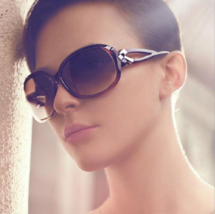 2016 new fashion vintage sunglasses Big round frame sun glasses Brand designer Retro glass 9 colors oculos de sol GL-5206