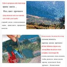 New Generation DIY 5D Diamond Embroidery Landscape Sunrise and Purple Flower Pattern Painting Rhinestones Diamond Mosaic Kits zx