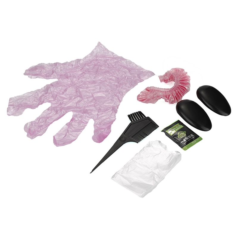 Useful 6Pcs/Set Hair Color Dye Tint With Hair Brushes Cap Gloves ...