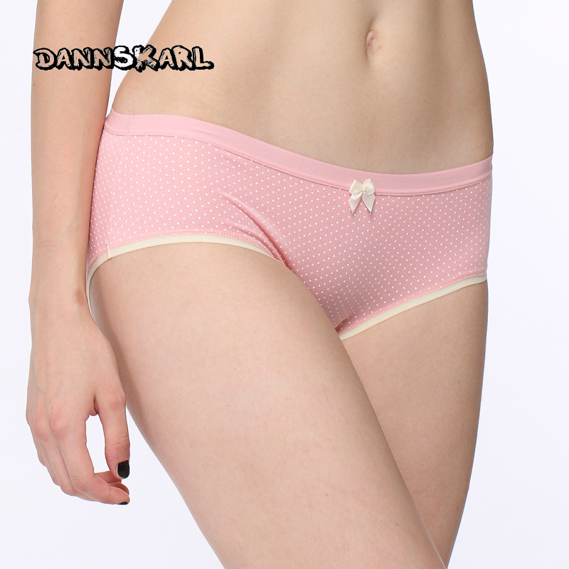Sweet Woman Printing Goods In Stock Lan Fine Mo Generation Seoul Maam Triangle Underpants