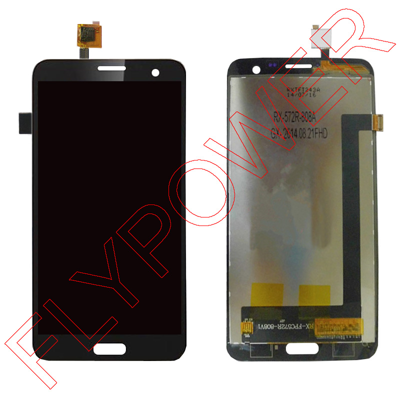 ФОТО For Elephone p8 lcd screen display+touch screen digitizer assembly by free shipping; 100% warranty; black