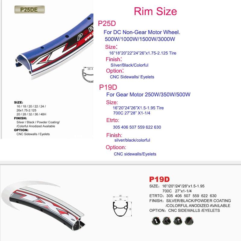 rim size