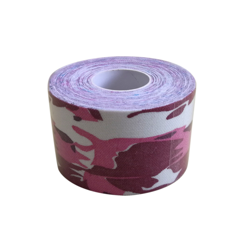 Printed Kinesiology Tape Camo 5cmx5m Elastic Water Repellent ...