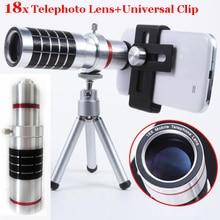 Discount! 18x Optical Telescope Smartphone Objective Camera Photo Lens+Portable Tripod For Meizu/For Nokia 1020 925 920/For Sony Z Z2/S8 +