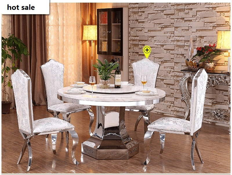 Dining Table Set Square Stainless Steel Dining Table With Marble Table Top Dining Room Furniture Table Settings Wedding Set Table And Chairsset Table Hello Kitty Aliexpress