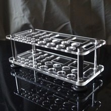 DIY Leather Tool Rack Leather Table Storage Rack Box Frame Straddle Tool Punch punch Tool Storage
