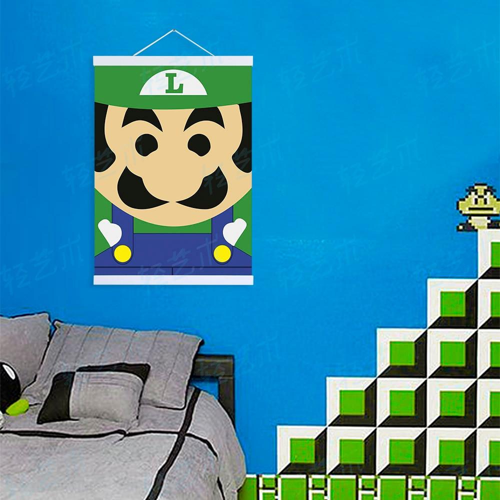 Mario Bedroom Online Buy Wholesale Mario Bros Poster From China Mario Bros