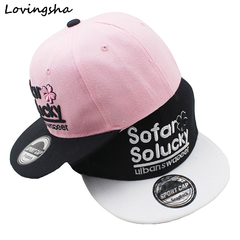 LOVINGSHA Boy Baseball Caps 3-8 Years Old Kid Letter Design Snapback Caps High Qaulity Adjustable caps For Girl CC070