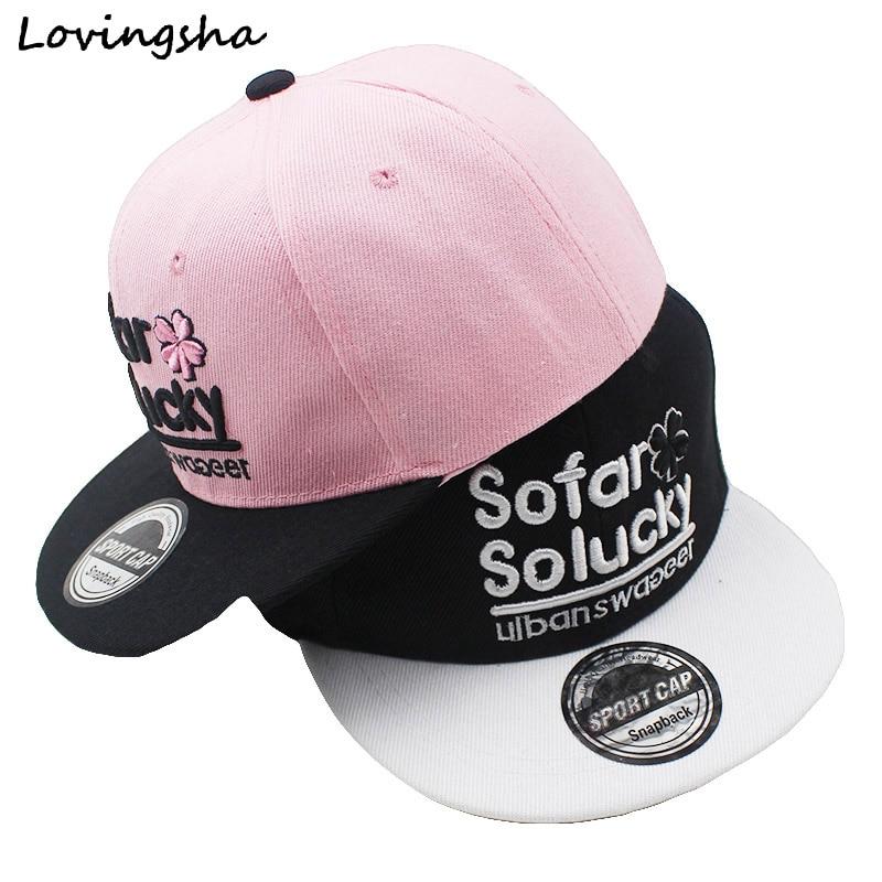 LOVINGSHA Boy Baseball Caps 3-8 Tahun Anak Desain Surat Snapback Caps Qaulity Tinggi topi Adjustable Untuk Gadis CC070