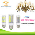 BRIGHTINWD Lights & Lighting E27 Lampada Led 220V 240V Corn Bulb SMD 5730 24 36 48 56 69 leds High Brightness Energy Saving Lamp