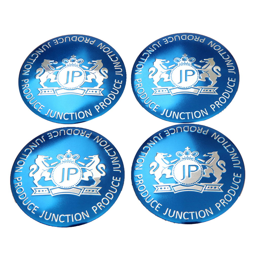 Car Styling Wheel Center Hub Caps JP Wheel Cover Sticker