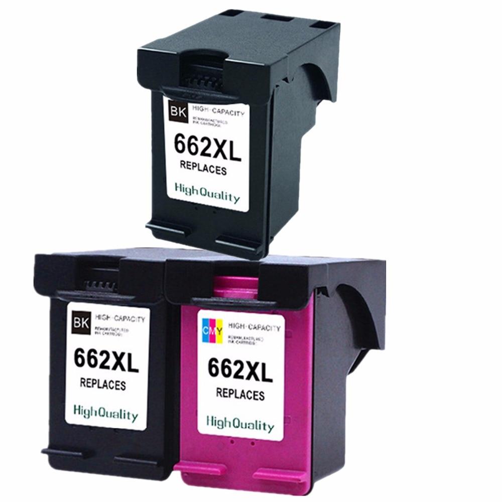 все цены на  Ink Cartridges For HP 662 XL 662XL HP662 HP662XL Deskjet Advantage 1015 1515 2515 2545 2645 3515 3545 4515 4645 Inkjet Printer  онлайн