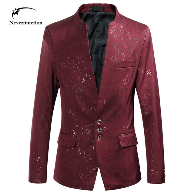 Men Blazers and Jackets Wedding party stage performance Business Formal Dress Suits Men's Casual Fashion Slim Fit Plus Size 6XL