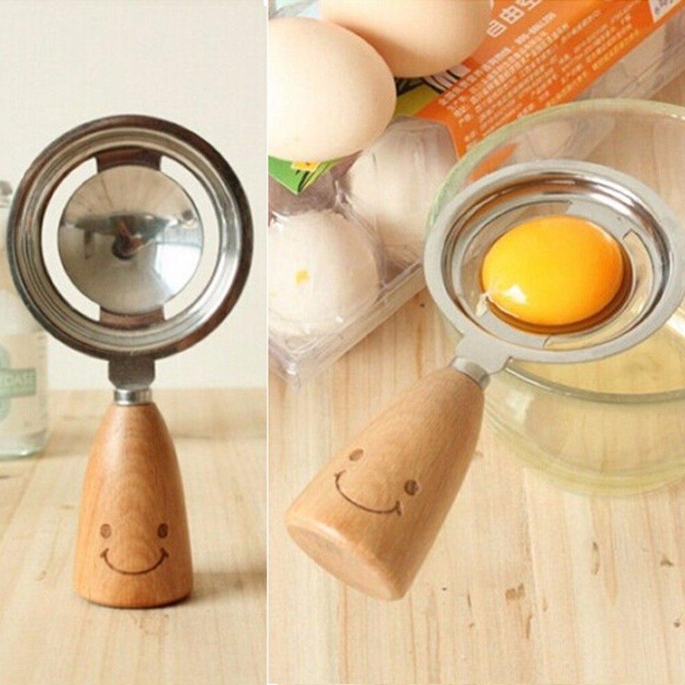ᐅHight calidad de acero inoxidable huevo separador divisor desayuno ...