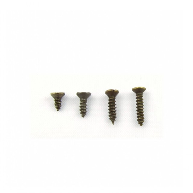 Bronze color self tapping screws antique screws small hinge cross screw 20