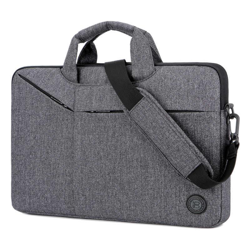 2018 جديد 14 14.6 15 15.4 15.6 محمول حقيبة الأعمال حالة الكتف حقيبة يد ل بوك لينوفو hp رجل امرأة