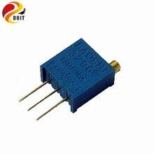 Официальный doit 3296 Вт 103 10 К высокая точность регулируемый потенциометр 3296 резистор diy kit rc игрушки бак шасси uno r3 raspberry