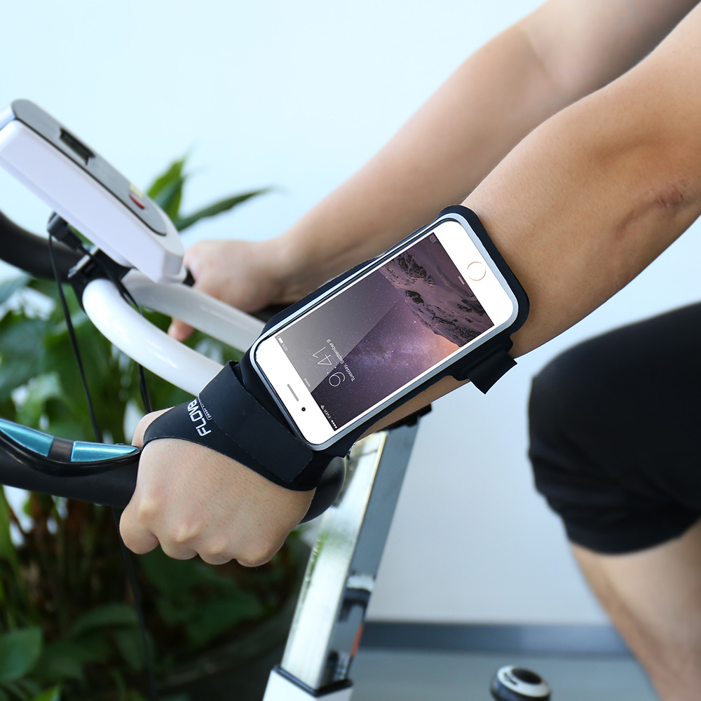 buy popular eca7c 292f4 US $12.71 |FLOVEME Arm band For iPhone 6 6S 7 7 Plus Outdoor Running Riding  Arm band Cases For Apple iPhone7 Case Sport Mobile Phone Holder-in ...
