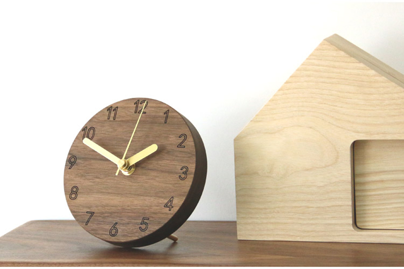 vintage wooden clock clock industrial la crosse mini antique decoration reloj sobremesa moderno decoracion alarm clock batman wood clock desk (7)
