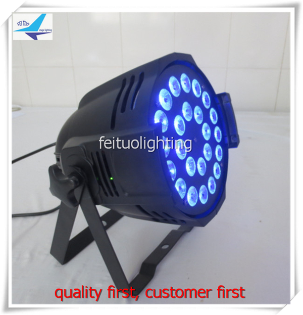 Hot Sell 2pcs/lot Super Bright LED Stage Lighting LED Par Light 24pcs 10W RGBW 4IN1 Strobe Pro Par Can Wash for Party Disco DJ
