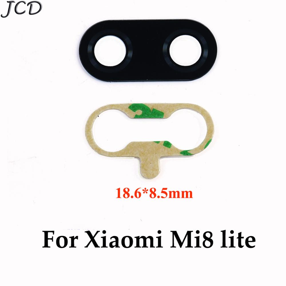 JCD 2pcs Rear Back Camera Glass Lens Cover For Xiaomi Redmi Note 7 / Mi 8 Lite 8lite With Ahesive Sticker Replacement Parts