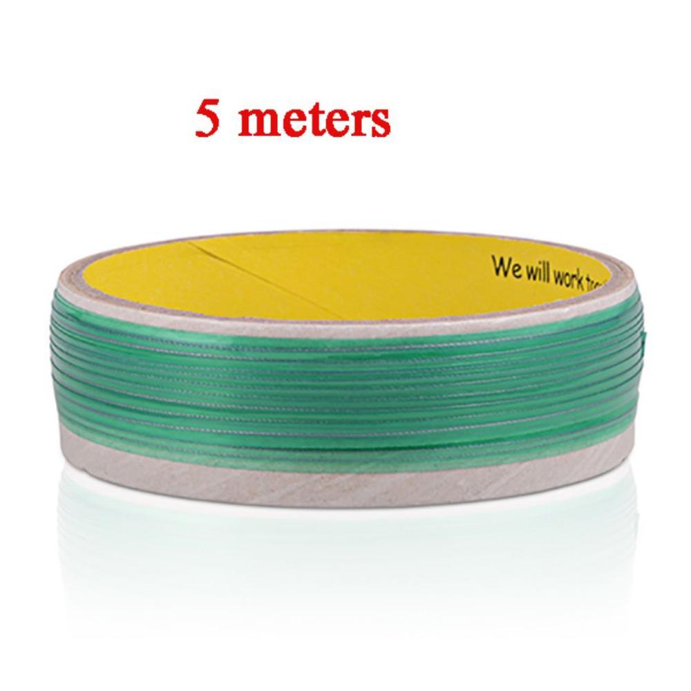 5M Vinyl Car Wrap Green Vinyl Film Wrapping Cut Tape Line Car Stickers Auto Accessories Knifeless Tape Design Cutting Tool