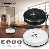2018 Smart Vacuum Cleaner Sweeping Robot Floor Cleaning Robot Movable Plastic Home White Black Mini Automatic Drop Shipping