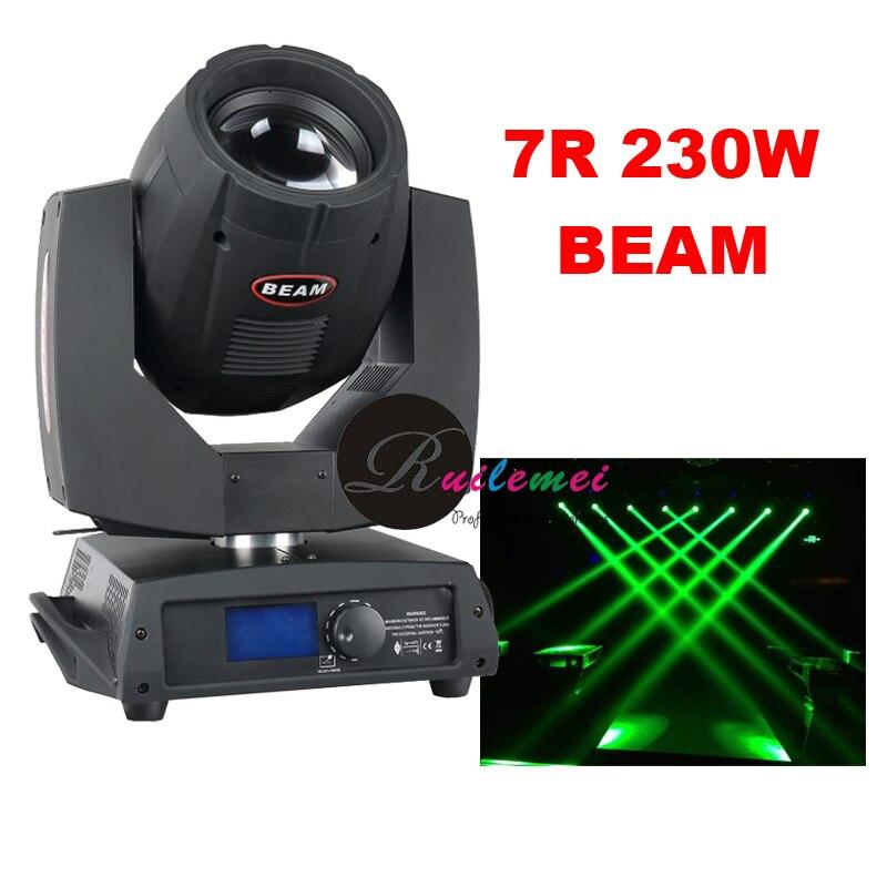 Wholesale Pr DJ Lighting 230W Theatre Concert Stage Sharpy Moving Lights Beam 230w 7r DMX Movinghead Equipment votives, 8pcs/lot