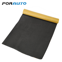 FORAUTO Car Noise Insulation Foam   Auto   Adhesive Cotton Thick Soundproof Rubber 12 x 20 inch Insulation Board Car Styling