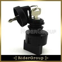 Interrupteur avec clé dallumage, pour Polaris ATV Ranger RZR S 4 Sportsman 800 X2 500 Magnum 500 Trail Boss 325 330 UTV Predator Ranger 700