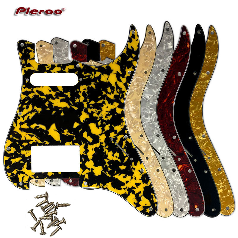 Electric Guitar Parts For  USA\Mexico Fd Stratocaster 11 Holes HS PAF Humbucker Guitar Pickguard Scratch Plate