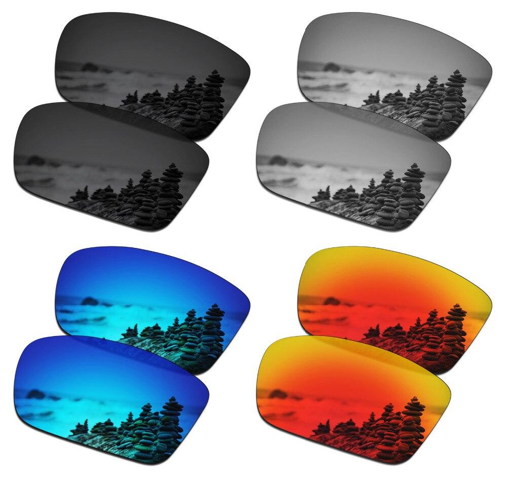 SmartVLT, 4 пары поляризованных солнцезащитных очков, Сменные линзы для оакли дирижер, 6 4 цвета