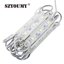 SZYOUMY DHL 500PCS 5050 3 LED Pixel Modules Yellow/Green/Red/Blue/White/Warm White Waterproof IP65 DC12V