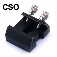 CSO Finder Scope Dovetail Slot Mounting Base with Screws for SKYWATCHER Finderscope Astronomical Monocular Binoculars Telescope