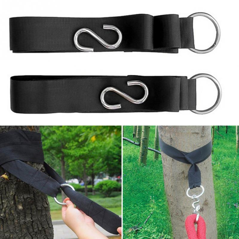 2pcs Hammock hanging belt hammock strap rope with metal buckle Hook2pcs Hammock hanging belt hammock strap rope with metal buckle Hook