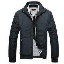Nuevos hombres de la chaqueta de abrigo casual bombardero chaquetas para hombre outwear rompevientos jaqueta veste homme brand clothing