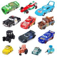 Disney Pixar Cars 2 3 Lightnig McQueen Mater Jackson Storm Ramirez 1:55 литая под давлением модель автомобиля из металлического сплава подарок на день рождения игрушка для ребенка