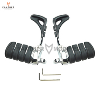 Motorcycle Foot pegs Heel Stirrup Footrests Moto Foot Rest case for Harley Touring Softail 883 1200 XL Dyna Fatboy Sportster