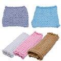 Soft Crochet Wool Basket Warm wrap Baby Newborn Photography Props Blanket