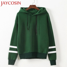 JAYCOSIN JUNE 2018 Womens Fashion Long Sleeve Hoodie Sweatshirt Jumper Hooded Pullover Tops Blouse Plus Size Drop Shipping 109