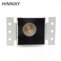 Hinnixy LED Anti glare Deep Concave Recessed COB Downlights 9W 220V 75mm Cut Hole Spot Lamp Warm/Natural/Cold White Home LIght