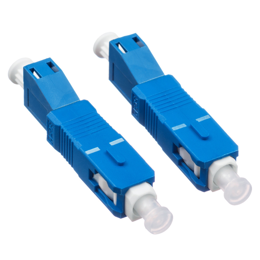 Carrier-class FC Female to SC Male Fiber Optic Hybrid Adapter FC-SC Connector