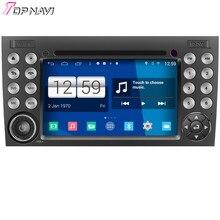 Topnavi Quad Core s160 Android 4.4 reproductor multimedia de DVD para SLK clase audio Radios estéreo 2DIN navegación GPS en el tablero wifi