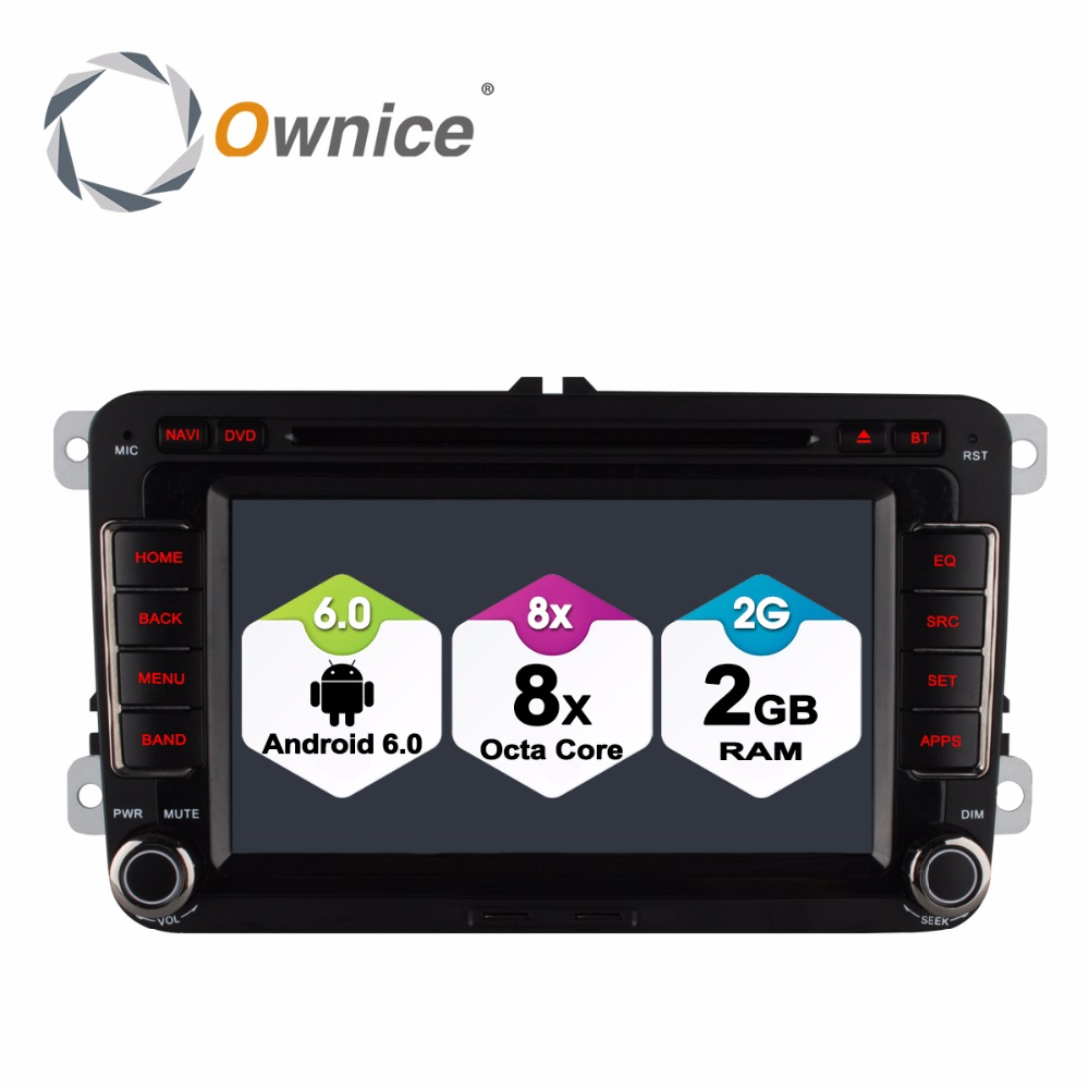 1024 600 Octa Core Android 6 0 font b Radio b font GPS Car DVD Player